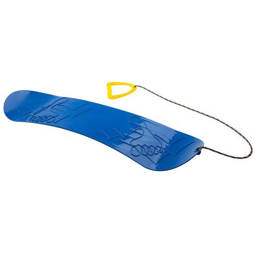 plastic-snowboard